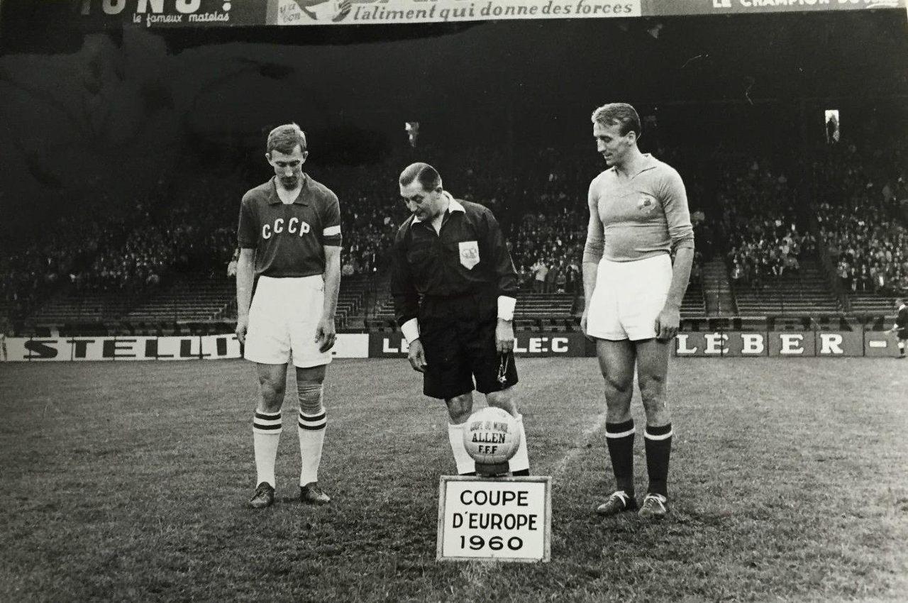 Unión Soviética Yugoslavia primera final Eurocopa