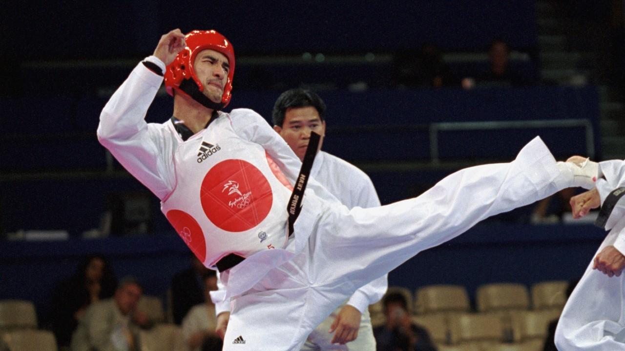 Víctor Estrada taekwondo México medalla
