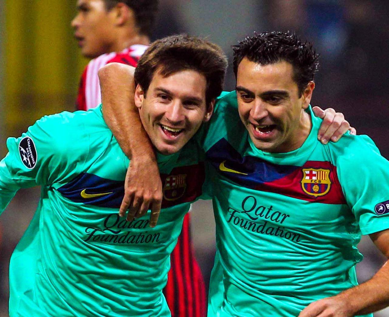 Xavi Lionel Messi seguirá Barcelona contrato