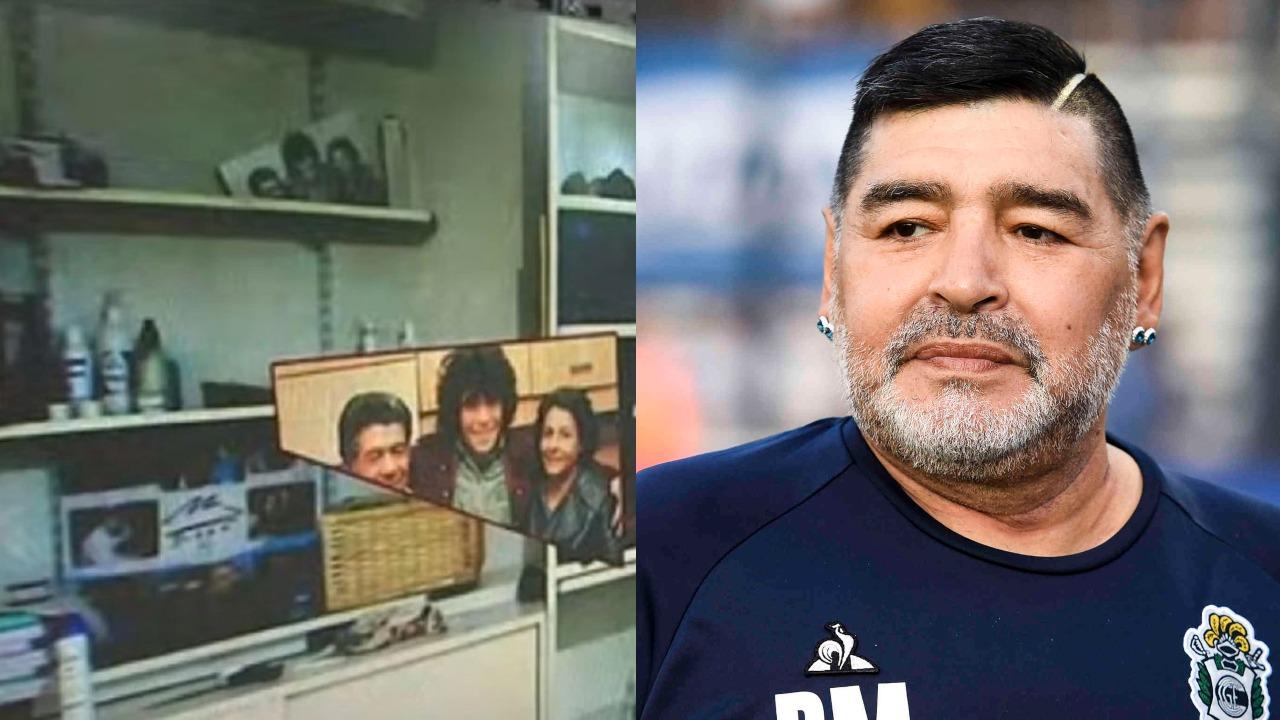 Maradona cuarto murió