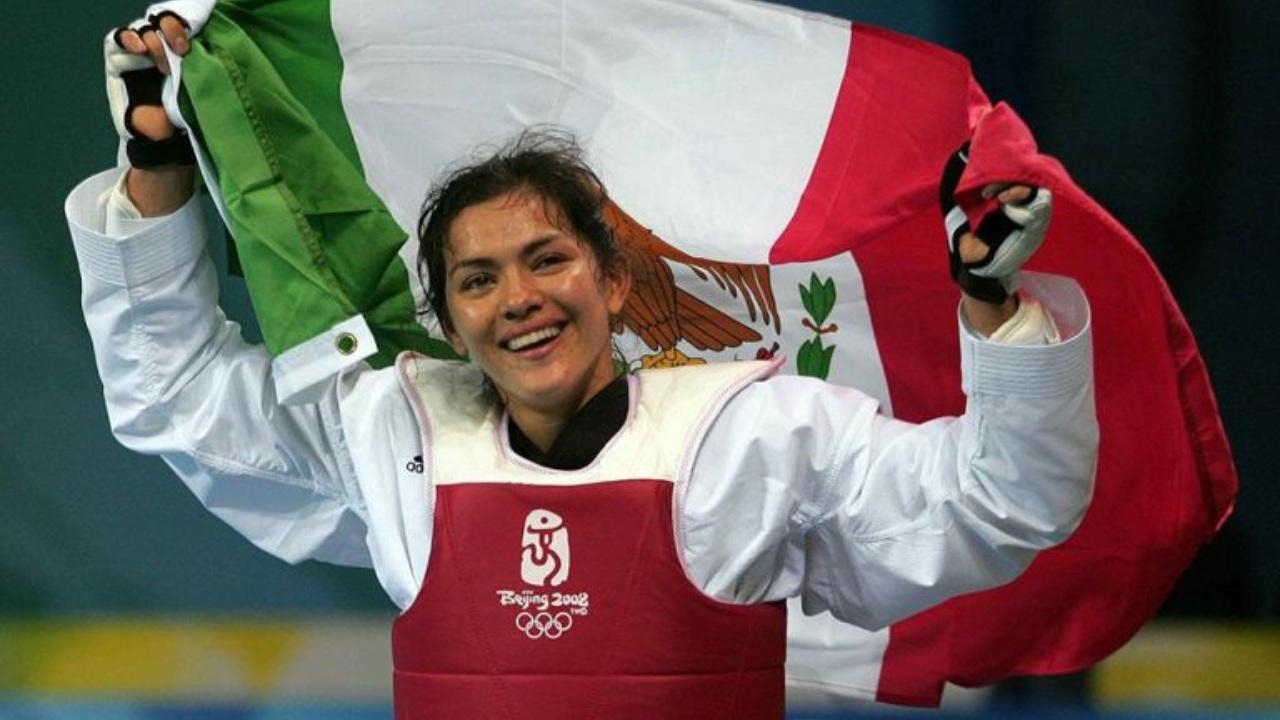 María del Rosario Espinoza medallista