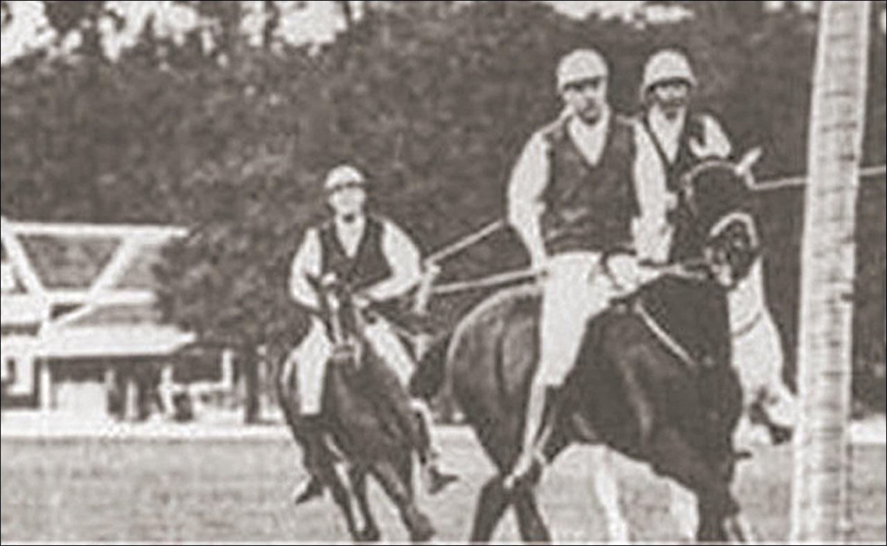 Equipo Polo mexicano paris 1900