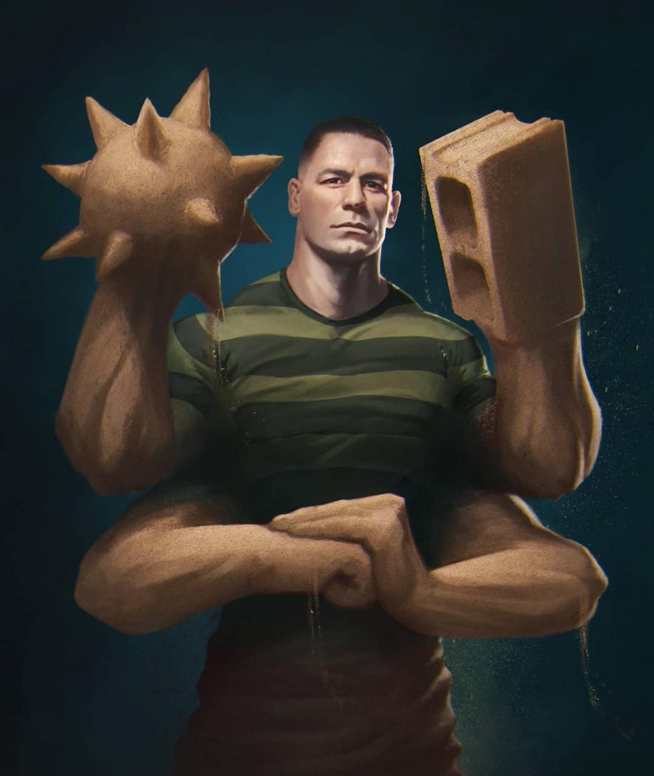 John Cena sandman spiderman peliculas