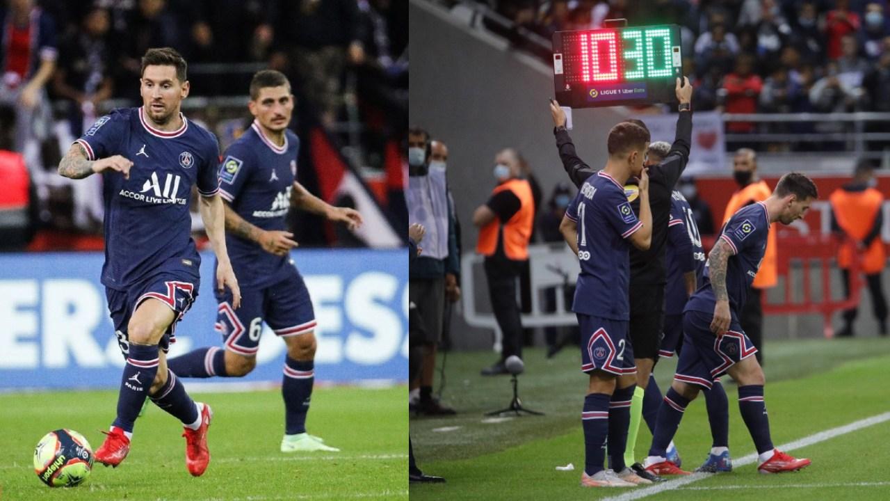 leo messi debut psg ligue 1