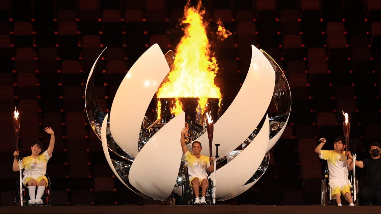 Tokyo 2020 Juegos Paralímpicos inauguración