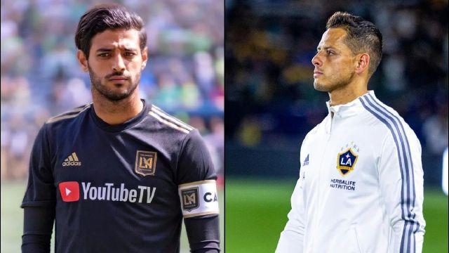 MLS Chicharito y Carlos Vela