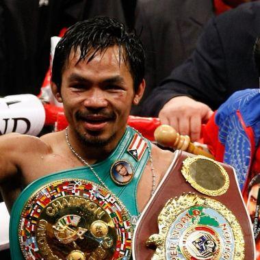 Manny Pacquiao cuantas veces fue campeon