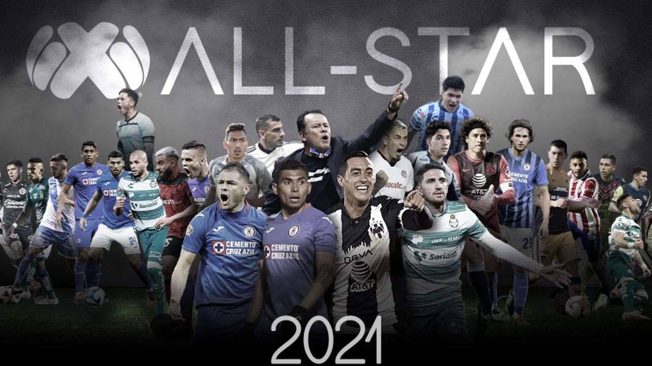 Ésta es la alineación de la Liga BBVA MX para el Juego de las Estrellas en contra de la MLS