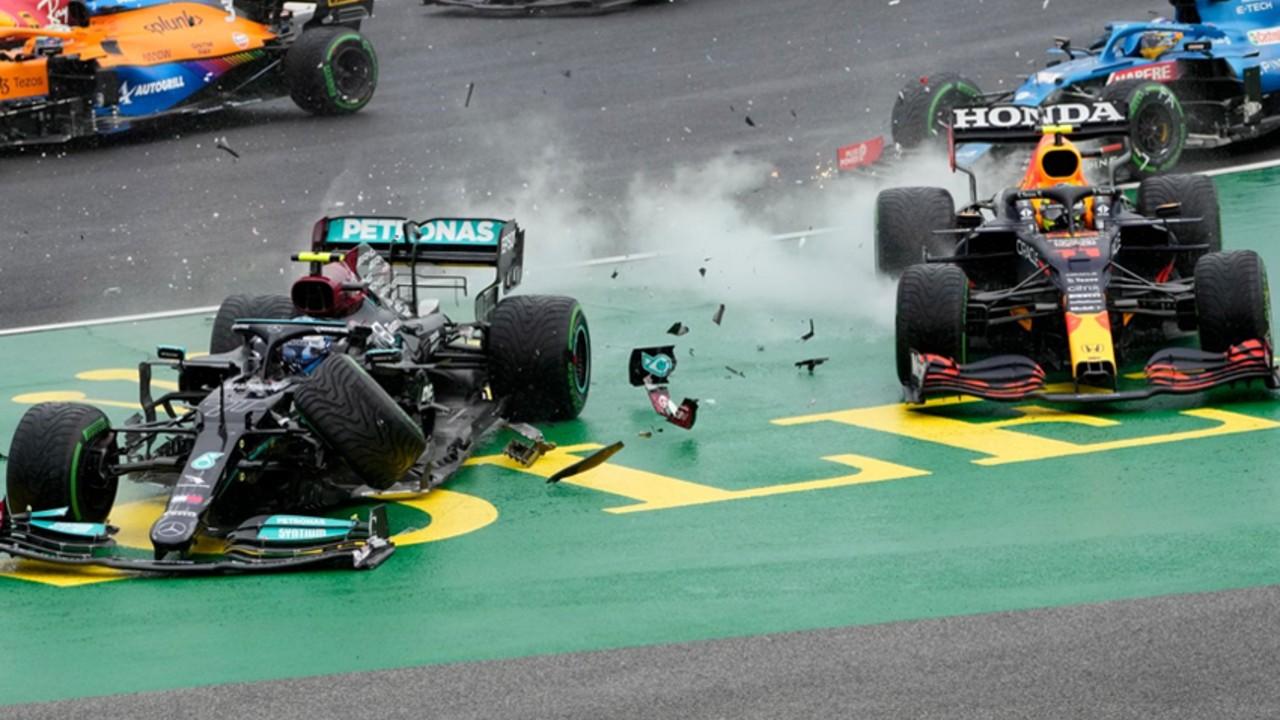 Fórmula 1_ Sergio Checo Pérez gp hungría choque