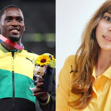 Tokyo 2020 voluntaria medalla oro