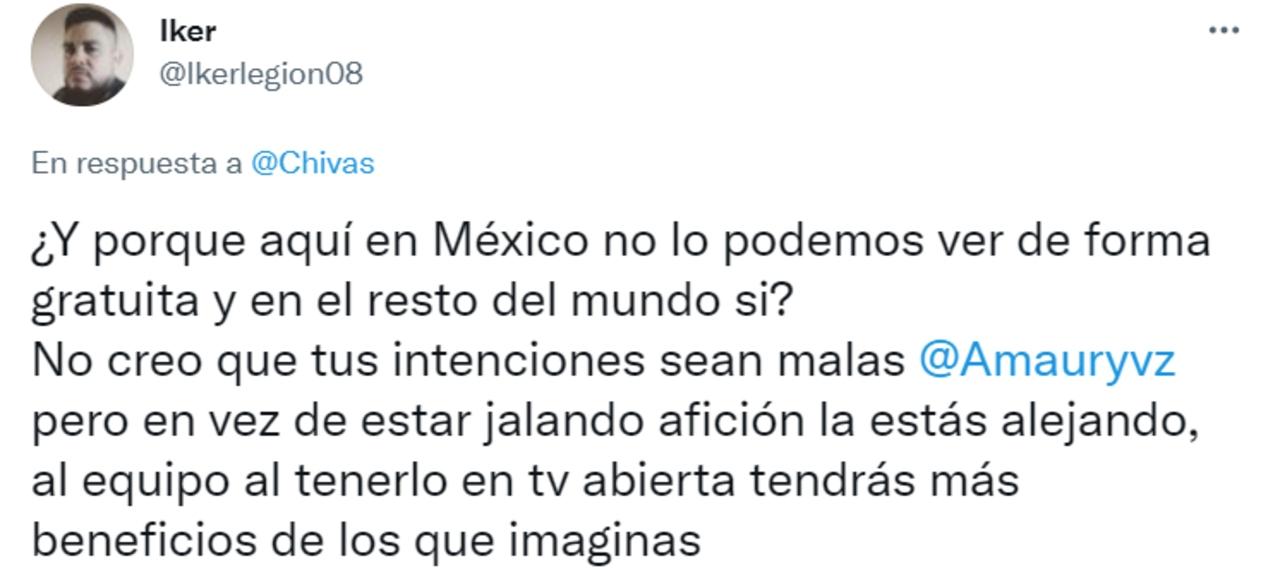 Chivas indignación aficionados partidos