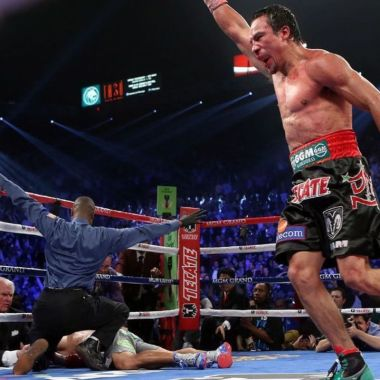 Juan Manuel Márquez asegura que siempre será un punto negro en la carrera de Manny Pacquiao