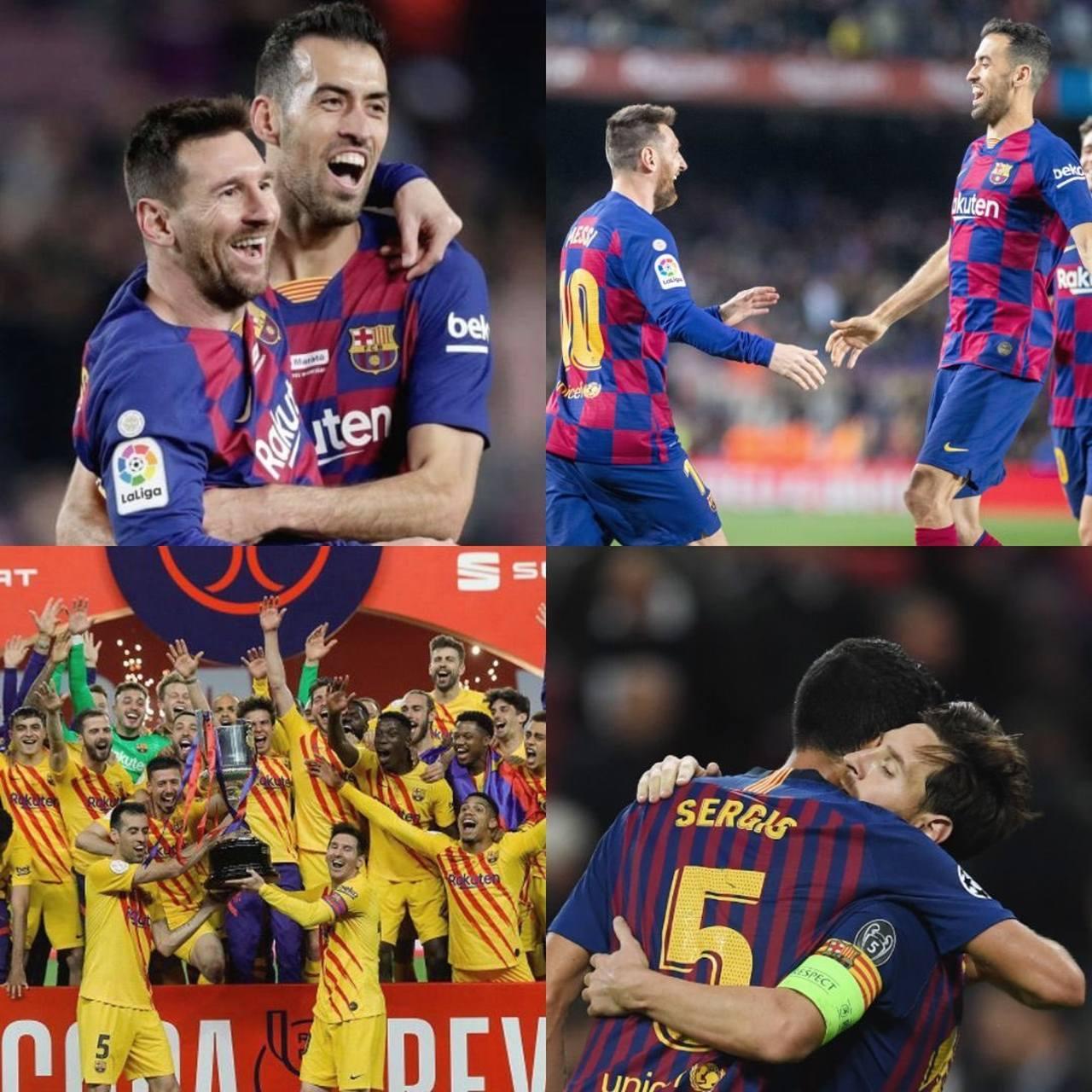 Barcelona messi futbol sergio busquets
