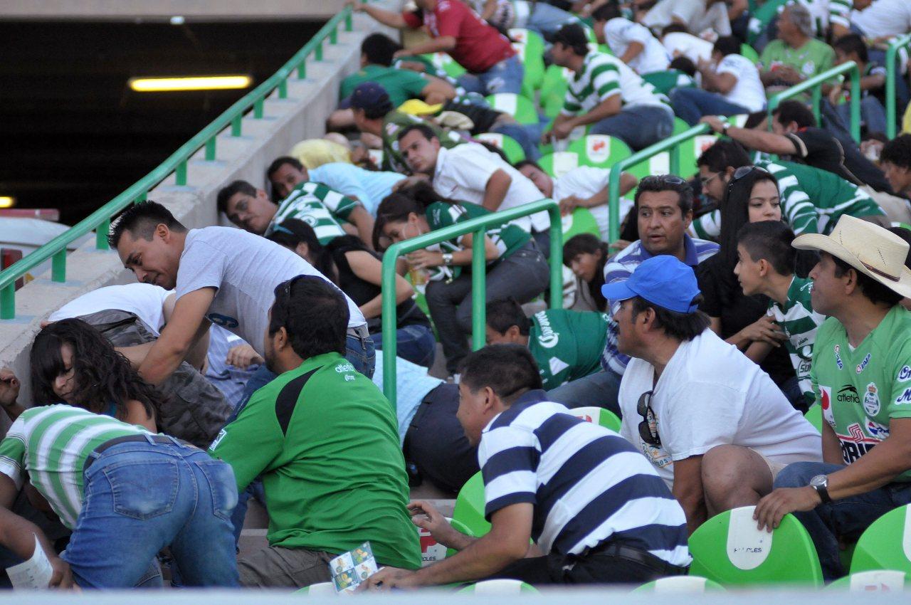 Liga BBVA MX balacera Santos Morelia