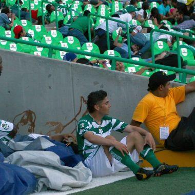 Liga BBVA MX balacera Santos Corona