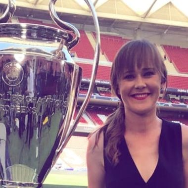 Marion Reimers Champions League narración