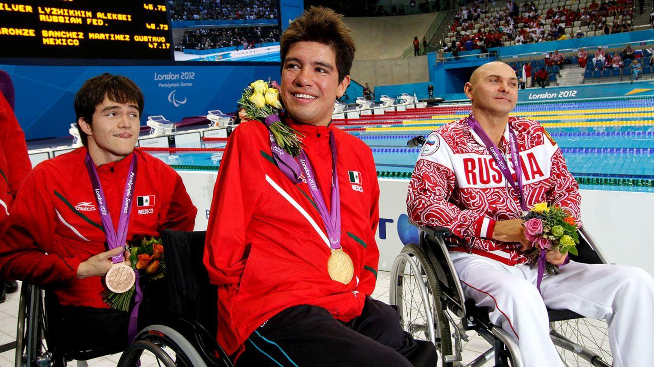 Medallistas paralímpicos México