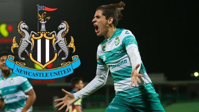 Newcastle United anuncia de forma oficial el fichaje de Santiago Muñoz