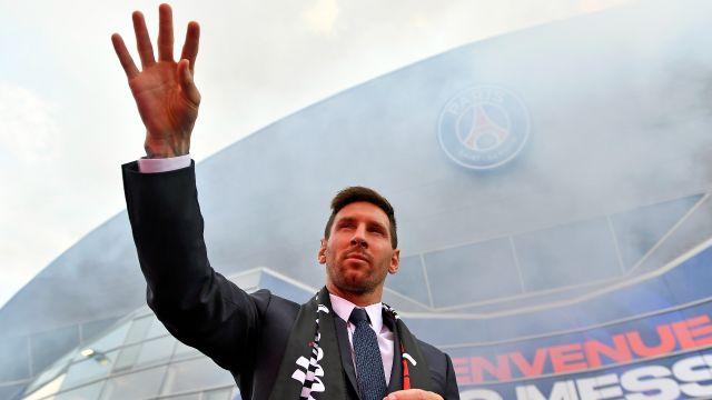 Leo Messi ligue 1 presidente