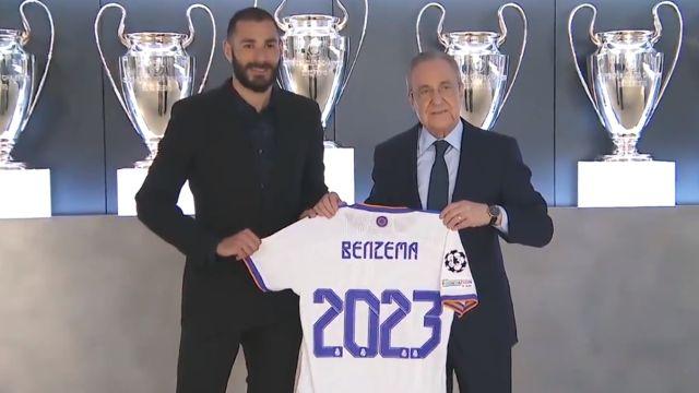Real Madrid hoy karim benzema contrato