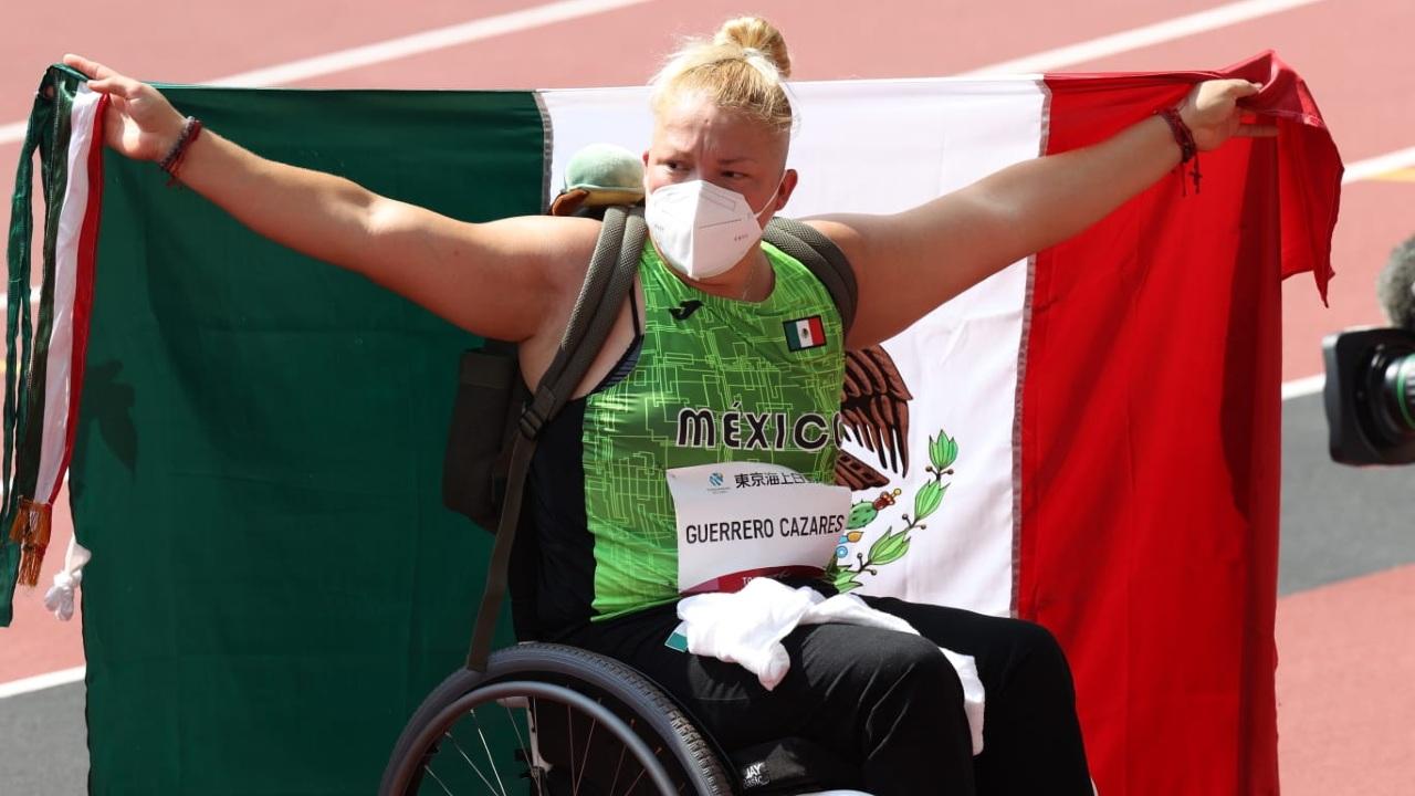 Tokyo 2020 Juegos Paralímpicos Rosa María Guerrero
