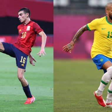 Tokyo 2020_ Brasil España final medalla de oro futbol