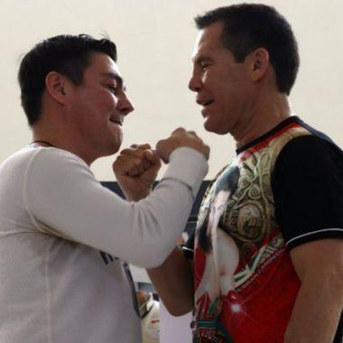 Julio César Chávez Travieso Arce pelea edes