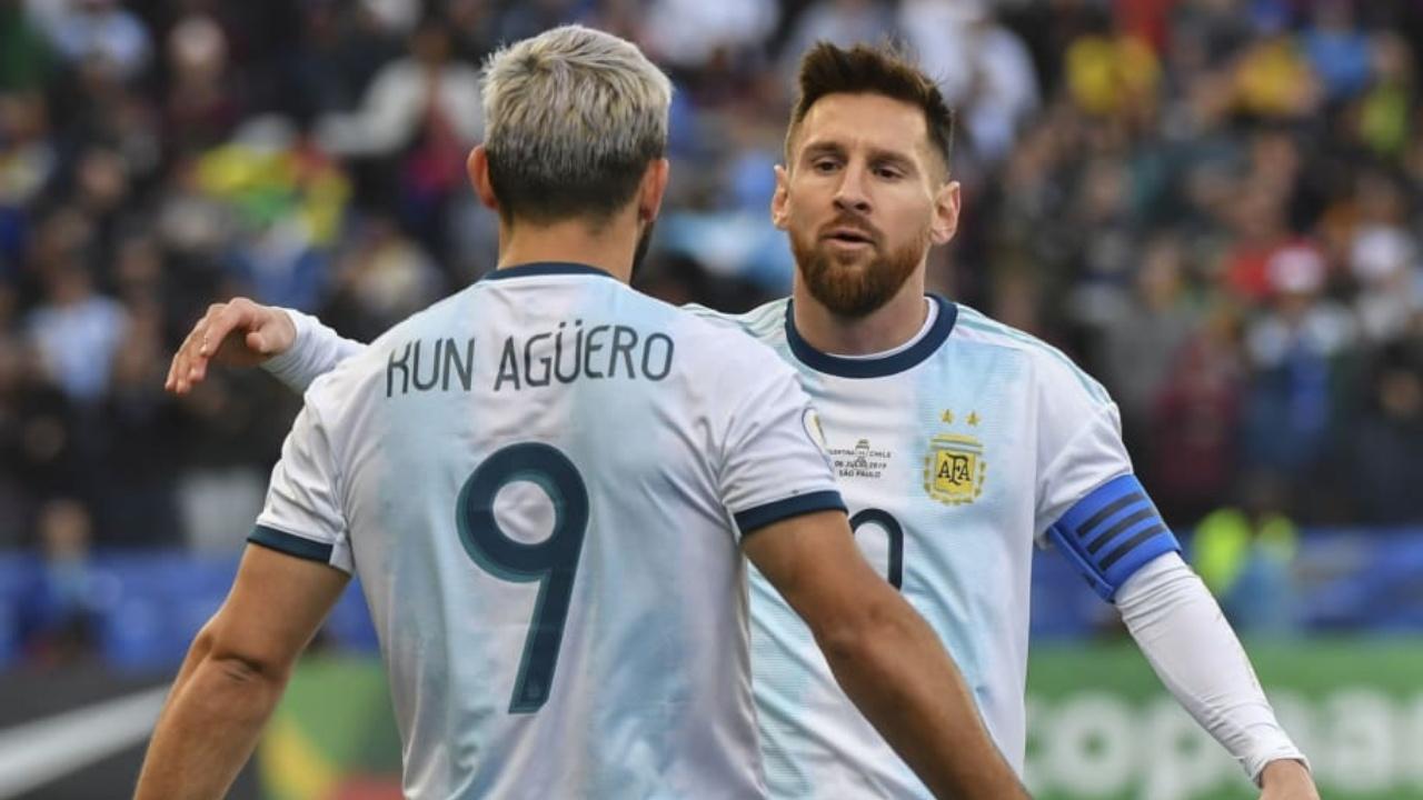 Kun Agüero Lionel Messi