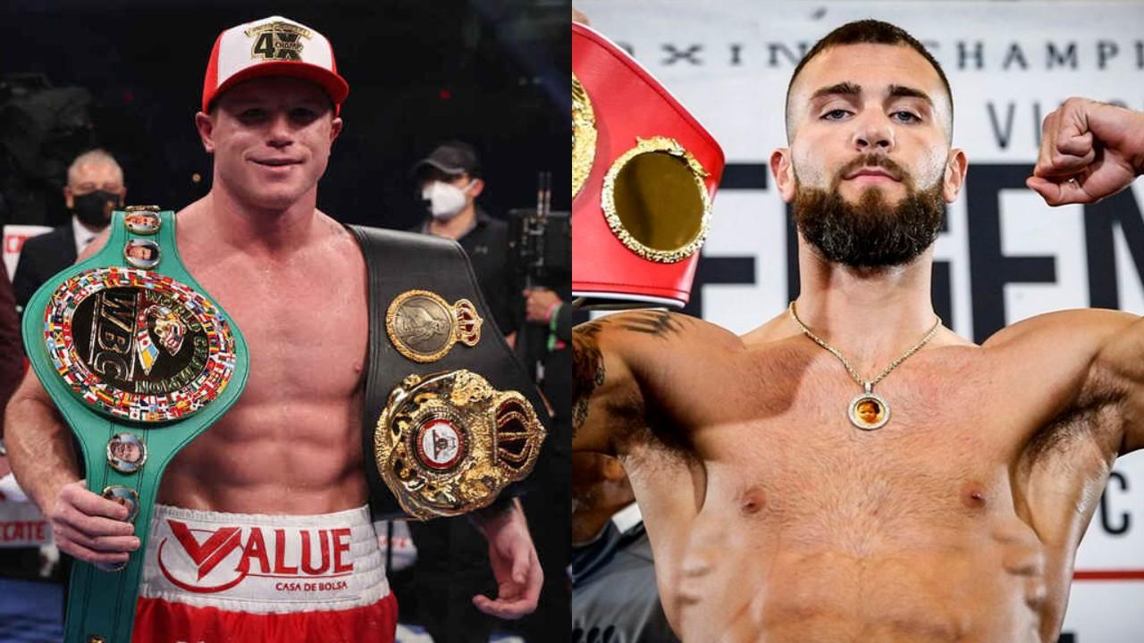 Ya habría acuerdo para pelea de Canelo Álvarez vs. Caleb Plant - Los Pleyers