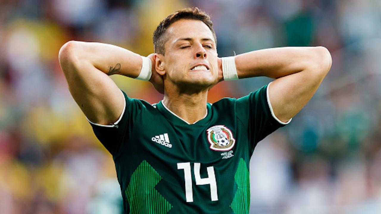 Chicharito Hernández Selección Mexicana
