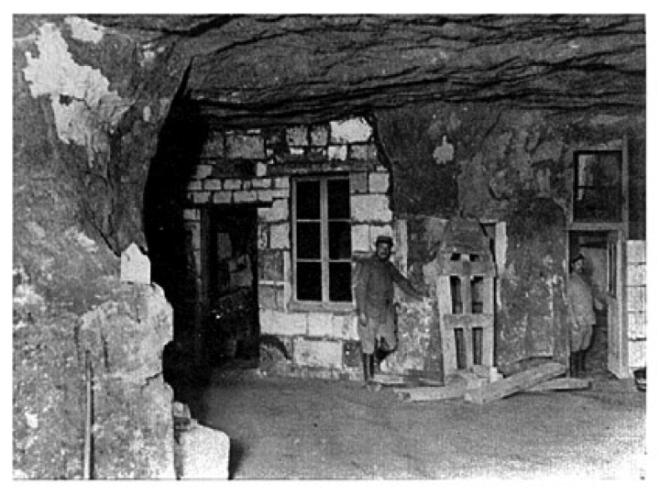 Primera Guerra Mundial, Caverne du Dragon