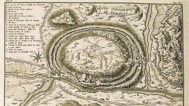 Numancia, Arqueología e Historia