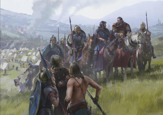 Bárbaros Romanos
