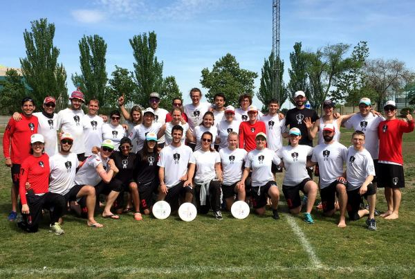 Quijotes+Dulcineas Ultimate Frisbee Madrid