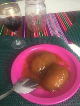 Mango and Honey Dessert