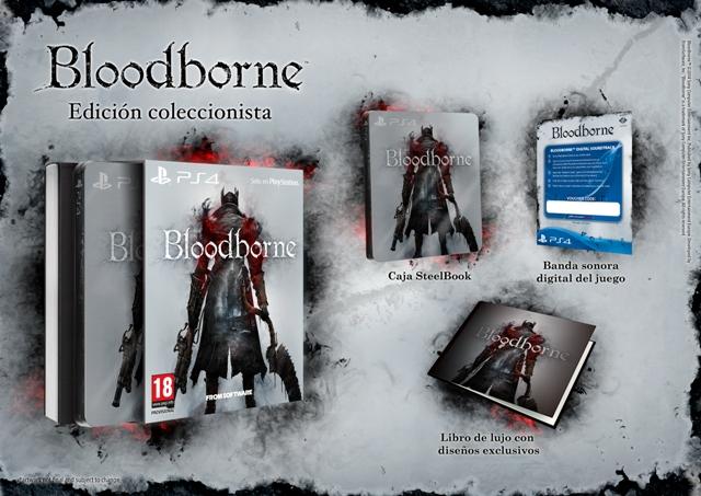 BloodBorne_collectors edition_CASTELLANO