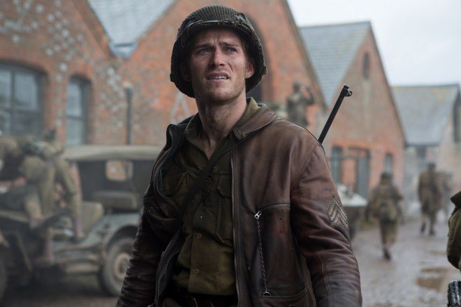 Sergeant Miles (Scott Eastwood) in Columbia Pictures' FURY.
