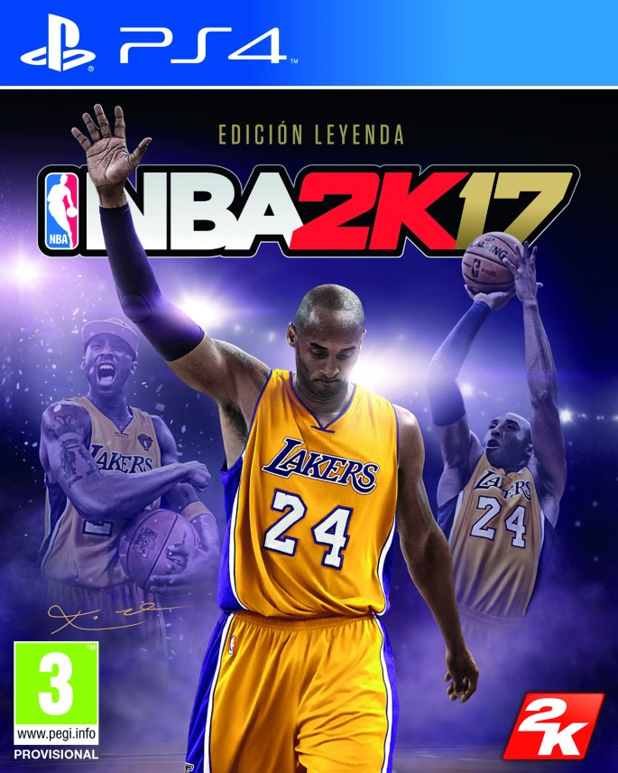 NBA 2K17 LEGEND FOB PS4 SPA