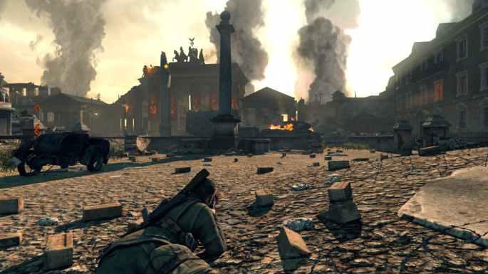Sniper-Elite-V2-Remastered-Brandenburg-Gate-Prone