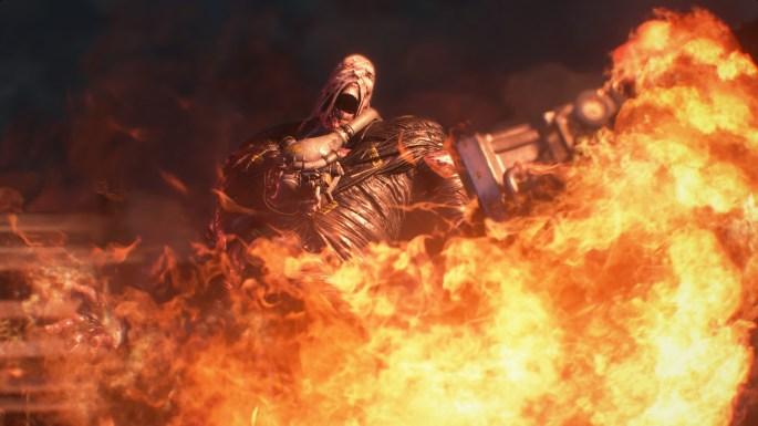 RE3 Nemesis Flames