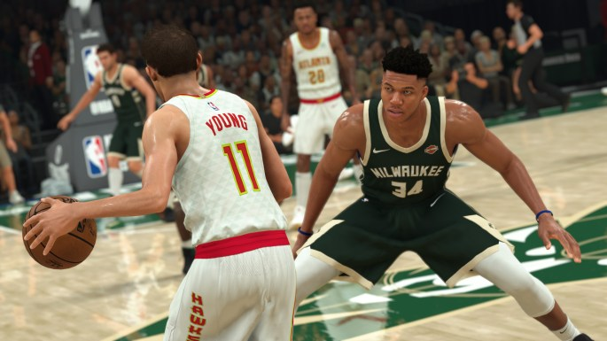 NBA 2K21 (Current-Gen) - Giannis Antetokounmpo on D