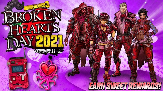 BORDERLANDS 3 Broken Hearts 2021