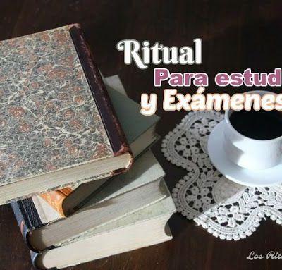 RITUAL PARA ESTUDIOS Y EXÁMENES