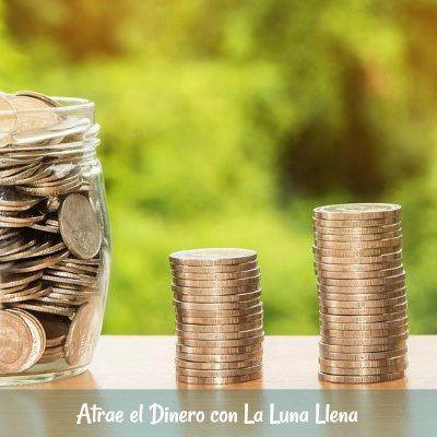 Atrae el Dinero con La Luna Llena