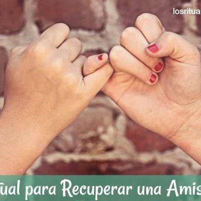 Ritual para recuperar una amistad