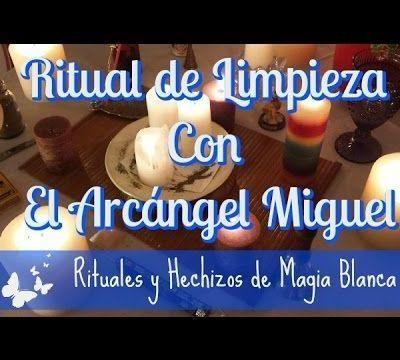 Ritual de limpieza con el Arcángel Miguel.