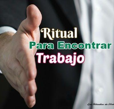 RITUAL PARA ENCONTRAR TRABAJO
