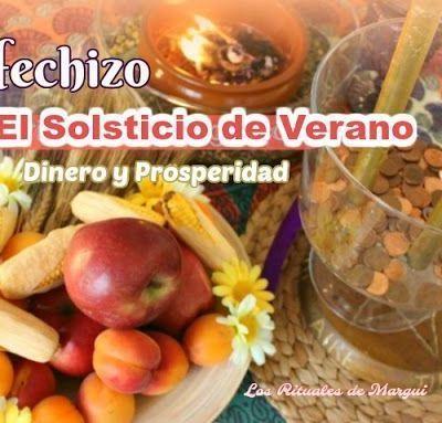 Hechizo para el Solsticio de Verano