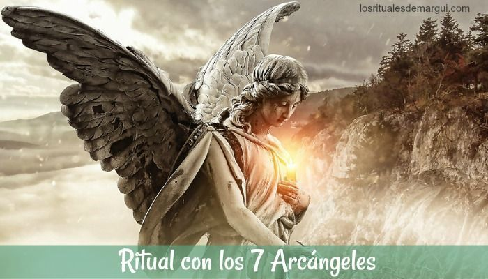 Ritual con Los Siete Arcángeles para la Limpieza, Protección y Abrecaminos