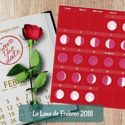 Luna de Febrero de 2018 ~ Un mes sin Luna Llena